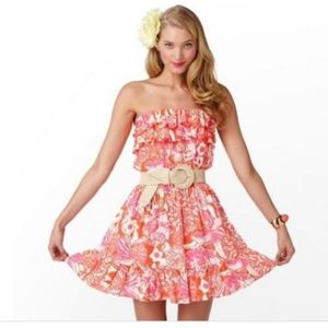 Lilly P 2 XS Print Tango QUINCY Full Short Dress